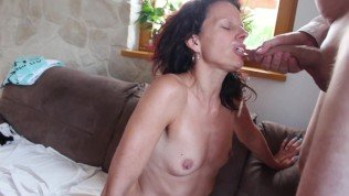 user comes in my wife`s mouth and she loves it and swallows everything